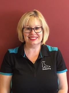 Receptionist Christine