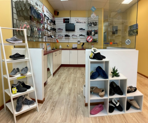 professional shoe fitting service - stylish podiatry footwear